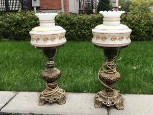 Lampes électriques vintage