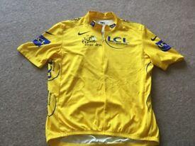 Nike Tour de France yellow jersey XL