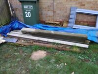 Fence posts &gravel boards