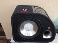 "12"" fli 012 active 1200w subwoofer"