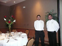 looking for banquet servers
