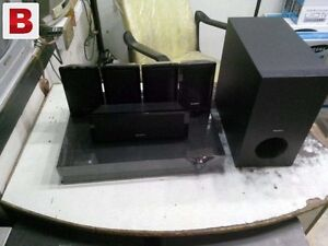 """SONY 55"""" LCD TV AND HOME THEATRE SYSTEM"""