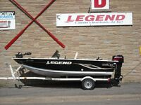 Legend 15 Angler SC, Mercury 25 el & Trailer