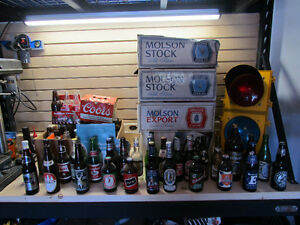 Beer and Pop Bottle/Can Collection- Vintage-Must Go
