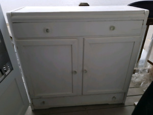 Solid Wood Antique Hutch MUST GO