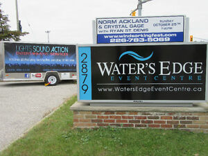 Waters Edge Lighting Uplighting DJ Services Windsor Disc Jockey Windsor Region Ontario image 10