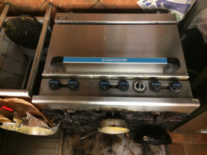 Used Restaurant stove and fryer for sale