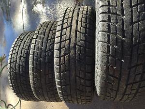 Tires pneu hiver 17 pouce Subaru forester 2015 West Island Greater Montréal image 4