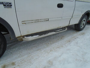 1998 ford f150 extended cab running boards chrome