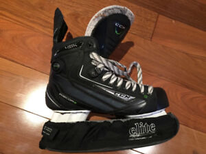 CCM Ribcor 46K Hockey Skates & CCM Ultra Tacks Hockey Pants