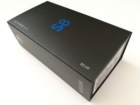 New Samsung Galaxy S8 BLACK