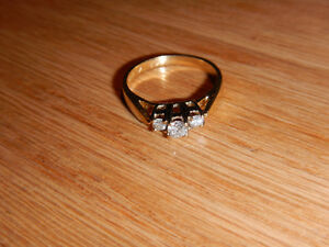Gold diamond rings for sale, great deals to make someone happy!