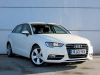 2013 AUDI A3 2.0 TDI Sport Bluetooth GBP20 Tax 1 Owner Dab