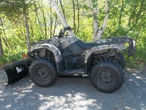 2006 Yamaha 660 Grizzly 4X4 with Snow Plow