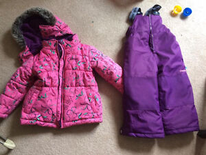 2T Carters winter coat and snowpants.