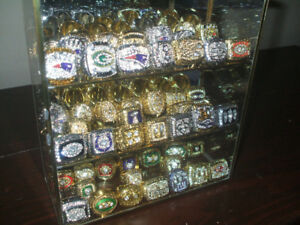 Complete Set of All 51 NFL Superbowl Championship Rings