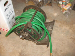 garden hose and reel
