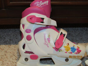 Disney Princess Girls Ice Skates