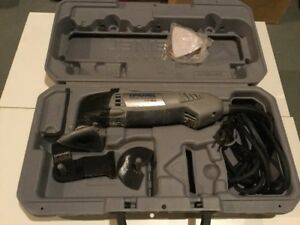 Oscillating tool - Dremel Multi-Max MM20 with case