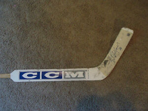 Hockey 2 Ed Belfour GAME USED & AUTOGRAPHED  Sticks! W/COA