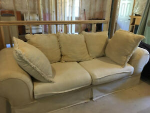 Couch for sale.  Very comfy but needs a good steam cleaning.
