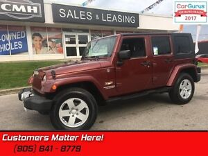 2008 Jeep Wrangler Unlimited Sahara  4X4, POWER-GROUP, 2 TOPS, A