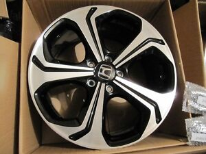 2014-2015 civic si 18inch oem rims in box West Island Greater Montréal image 3
