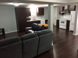 2 BEDROOM BASEMENT SUITE, FULLY FURNISHED, UTILITIES INC.