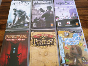Various PSP Titles (UMD)