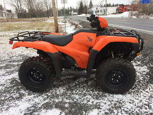 2016 HONDA 500 FOREMAN (EPS)...(PLOW AVAILABLE)...FINANCING