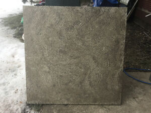 7 Patio Slabs - w/ marble look