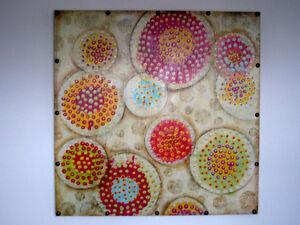 Toile colore pour decoration - Colorful Art