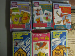 Six sets of FlashCards for Children
