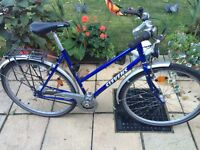 Stevens ladies city bike