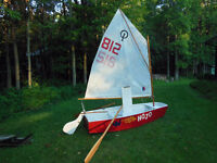 Optimist dinghy -Great cottage boat and sail trainer