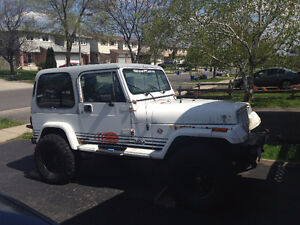 1989 Jeep Wrangler Sahara SUV, Crossover - Best Offer Takes It