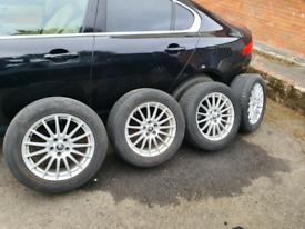 Genuine Jaguar xf Alloys wheels