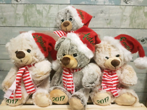 Personalized Christmas Elves and Bears Bears