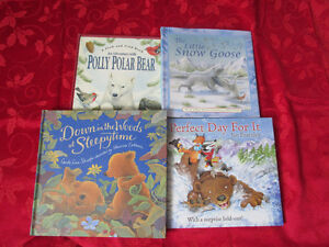 Four Children's Hardcover  Books - Animals Stories  MINT