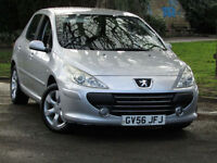 Peugeot 307 1.6 16v S**AUTOMATIC**VERY LOW MILEAGE 51,000**NEW MOT**