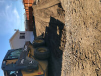 Skid steer & landscaping