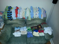 Huge Lot of Boys Clothes NB-6M
