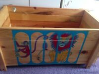Vintage toy box