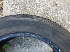 Selling 4 Winter Tires (2 Firestone, 2 Hercules) Cambridge Kitchener Area image 3