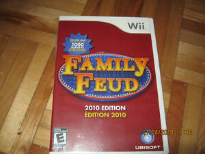 Family Feud pour le Wii West Island Greater Montréal image 1