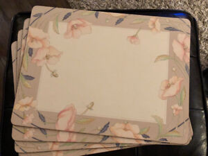 Like New Pimpernel Cork Placemats