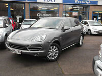 2012 62 PORSCHE CAYENNE 3.0TD 4X4 Tiptronic S AUTO SUNROOF/LEATHER/SATNAV FPSH