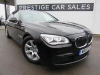 2013 BMW 7 Series 3.0 730d M Sport (s/s) 4dr Diesel black Automatic