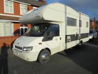 RIMOR SUPERBRIG, 6 BERTH, FIXED REAR BED, LOW MILEAGE