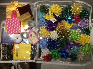 Bows gift wrapping